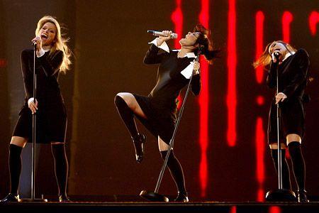 Серебро Live видео с финала Евровидения 2007